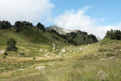 Galbe valley in  Pyrenees orientales,  France Stock Photo