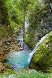 The Galbenei Gorge from the Carpathian mountains Stock Photo