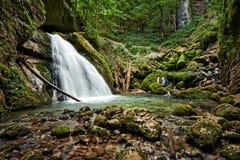 Galbenei gorge waterfall Stock Image