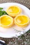 Galdéria chinesa do ovo da pastelaria foto de stock royalty free