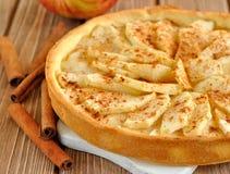 Galdéria com maçãs Imagem de Stock