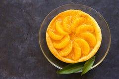Galdéria com o mandarino e mel Imagens de Stock