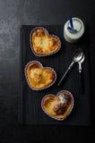 Galdéria coração-dada forma do dia de Valentim mini Fotografia de Stock Royalty Free