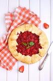 Galdéria da pastelaria com ameixas Fotos de Stock Royalty Free