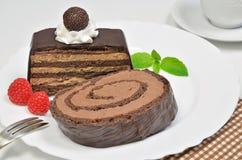 Galdéria do chocolate imagens de stock