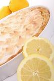 Galdéria do meringue do limão fotografia de stock