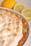Galdéria do meringue do limão imagem de stock