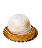 Galdéria do tarte de limão e merengue Imagem de Stock Royalty Free