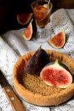 Galdéria ou torta com figos e mel Imagens de Stock