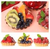 Galdérias da fruta foto de stock