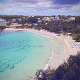 Galdana Bay on Minorca Royalty Free Stock Photos