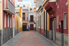 Galdar, Gran Canaria Stock Foto
