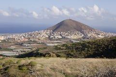 Galdar, Gran Canaria obraz stock
