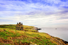 Galdenoch Castle near Portpatrick Stock Photography