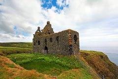 Galdenoch Castle near Portpatrick Stock Photos