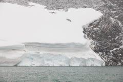 Galdhopiggen glaciär jotunheimen nationalparken Rutt 55 Norwe Arkivbild