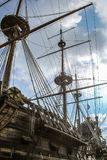 Galeón español del siglo XVII - el Neptuno de Columbus Fotos de archivo libres de regalías