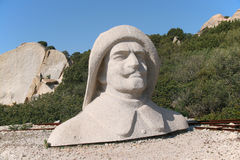 Galeazzo Ciano granite bust Stock Photography