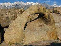 Galen Arch, Alabama Hills CA, -4-25 -09-02 Royalty Free Stock Photos