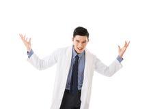 Galen asiatisk doktor royaltyfri fotografi