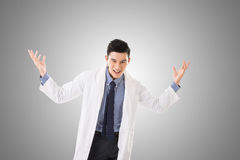 Galen asiatisk doktor Arkivfoton