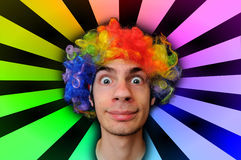 galen clown Arkivbilder
