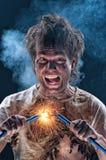 galen elektriker Fotografering för Bildbyråer