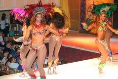 Galen karneval i Rio de Janeiro Royaltyfria Bilder