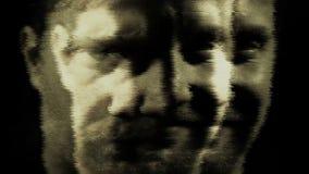 Galen sinnessjuk schizofrenipsykopat och mental hälsaoordningabstrakt begrepp lager videofilmer
