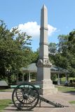 Πολεμικό μνημείο Galena, Ιλλινόις Στοκ Φωτογραφίες