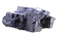 Galena mineral isolated Stock Photography