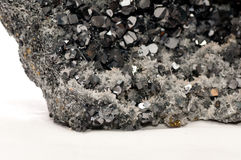 Galena mineral sample Stock Photography