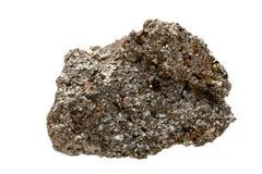 Galena minerale, un campione Fotografie Stock Libere da Diritti