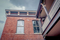 Galena's Architecture Royalty Free Stock Photography