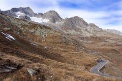 galenstock冰川瑞士 免版税库存照片