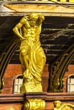 Galeon Neptun w genua porcie Zdjęcie Stock