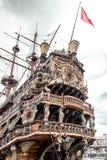 Galeone Neptune ship Royaltyfri Fotografi