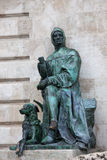 Galeotto Marzio Statue in Budapest Stock Images