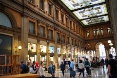 Galería Alberto Sordi en Roma Imagen de archivo libre de regalías