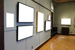 Galería de arte Imágenes de archivo libres de regalías