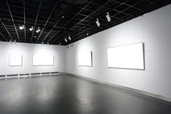 Galería de arte Imagenes de archivo