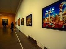 Galería de arte Fotografía de archivo
