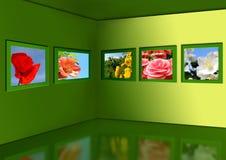 Galería de flores. libre illustration