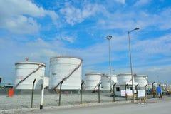 Galería de fotos del aceite grande Fotografía de archivo