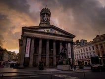 Galería de Glasgow del arte moderno Fotografía de archivo libre de regalías