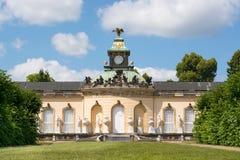 Galería de imágenes en el parque Sanssouci, Potsdam, Alemania Imagen de archivo