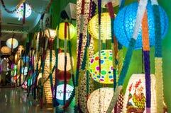 Galería de la linterna Imagen de archivo libre de regalías