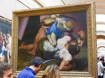 Galería de la pintura en la lumbrera París Fotos de archivo
