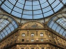 Galería de las compras de Milano Fotografía de archivo libre de regalías