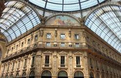 Galería de Milano Imágenes de archivo libres de regalías